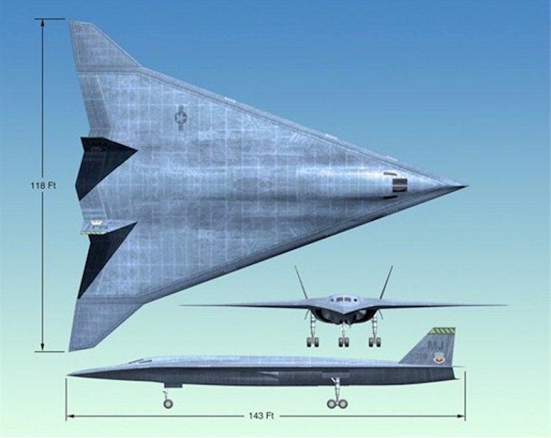 在高超音速飞行时,飞机表面温度将会升得
