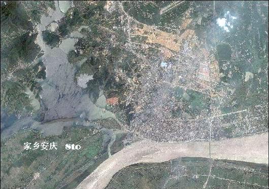 卫星拍摄的城市俯视图~~~精美[转帖]