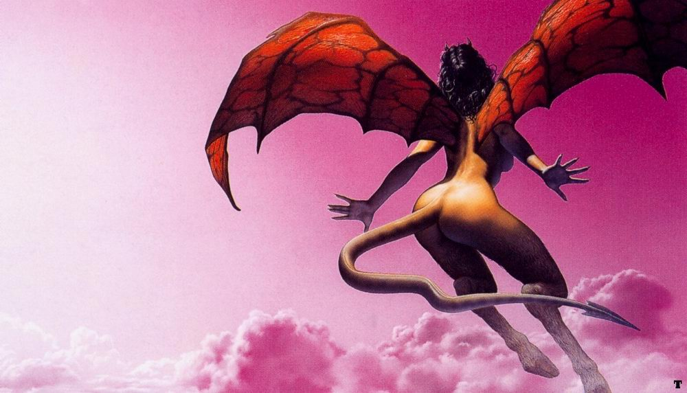 欧洲神话中占主导地位的天使与魔鬼之解 异度