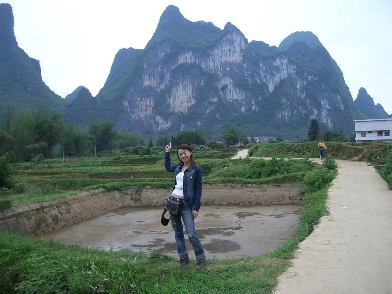 桂林美女多水灵 漂在广西
