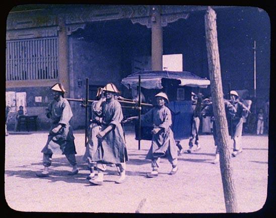 清朝北京彩色照片_罕见的中国清朝彩色照片组图_人物周刊更多