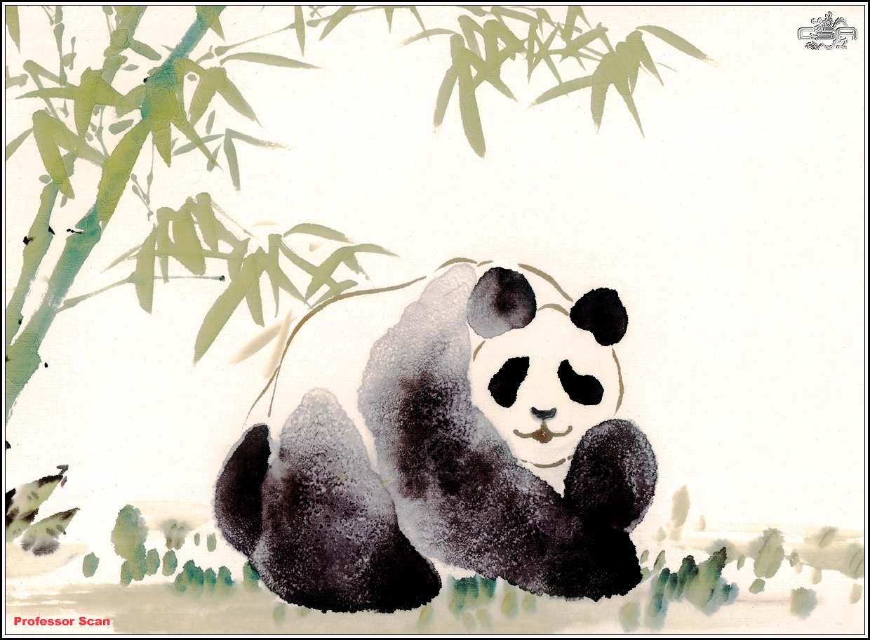 金馆长熊猫表情素材