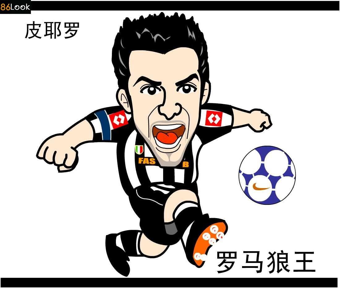 足球明星微信头像男