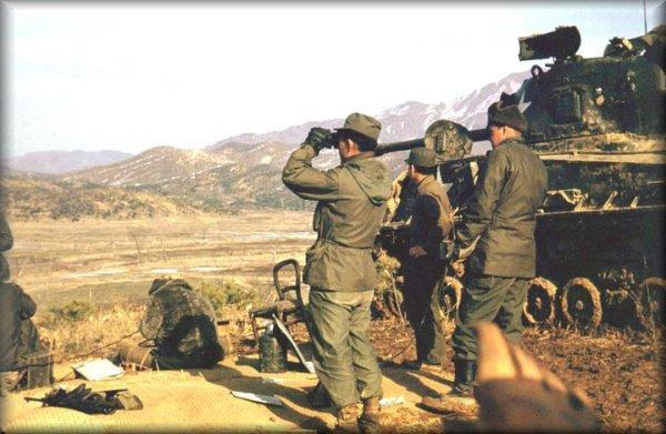 帖子标题 也发几张朝鲜战争纪实彩色图片