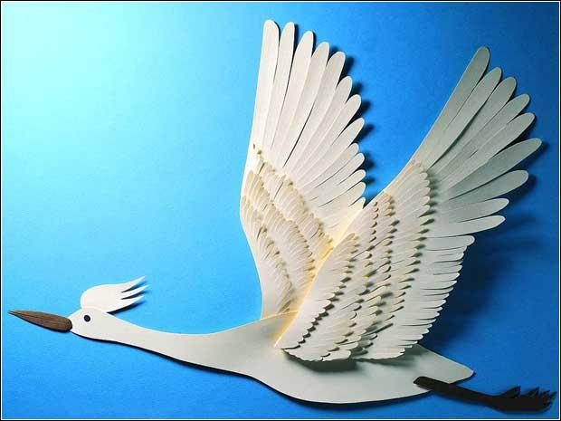 令人惊艳的纸雕艺术