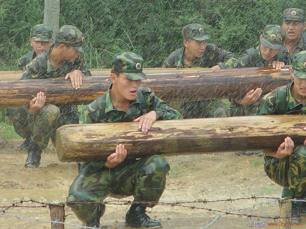 中国特种部队训练图图片