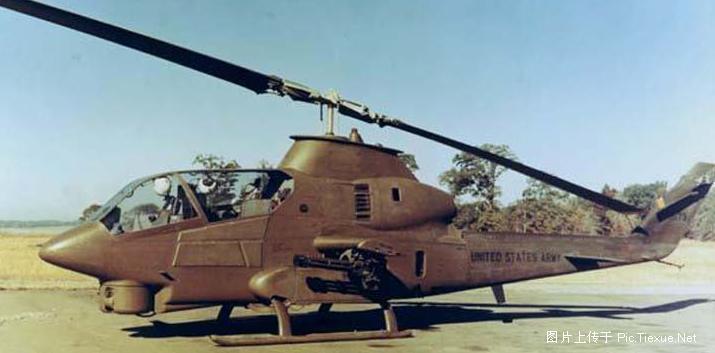 (图文)ah-1休伊眼镜蛇武装直升机