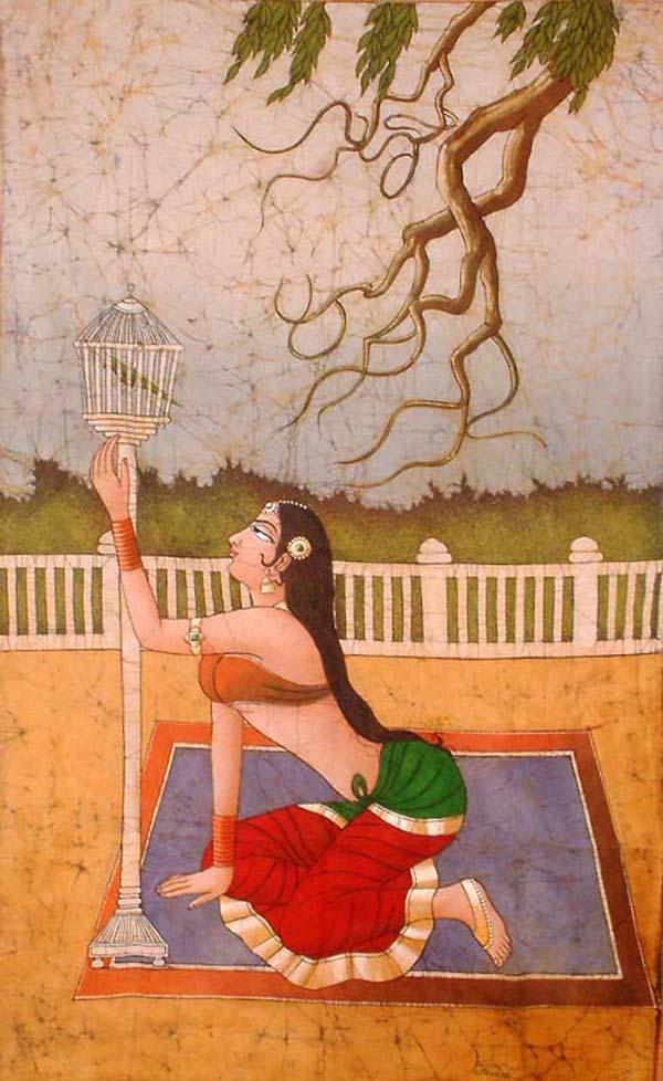 印度绘画作品欣赏