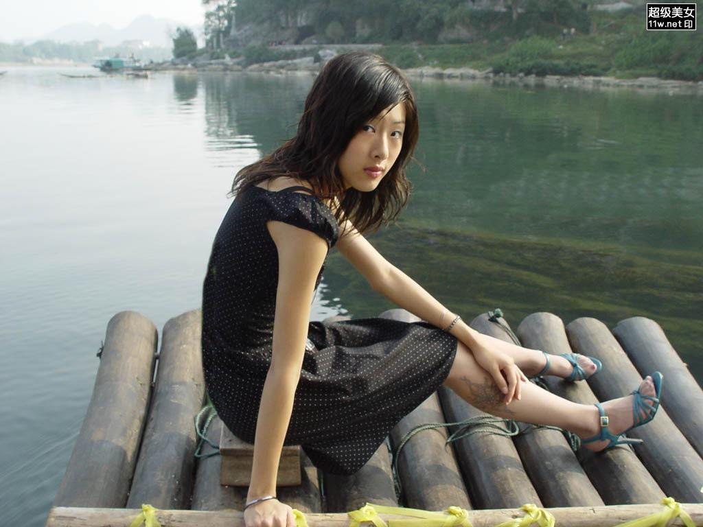 桂林的城市美女